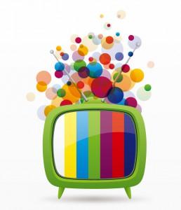 Cartoon-Colored-Bubbles-TV-Vector
